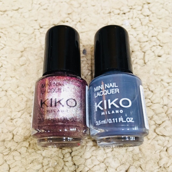 Kiko Makeup   Milano Nail Polish 2 Pack   Poshmark